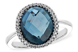 B243-93193: LDS RG 5.31 LONDON BLUE TOPAZ 5.45 TGW