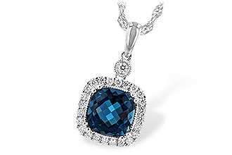 D243-92275: NECK 1.63 LONDON BLUE TOPAZ 1.80 TGW