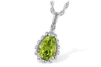 D243-95075: NECKLACE 1.30 CT PERIDOT