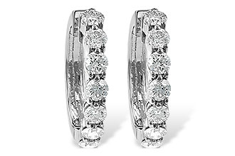 F055-75920: EARRINGS 2 CT TW