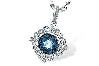 M243-94138: NECK .98 BLUE TOPAZ 1.10 TGW